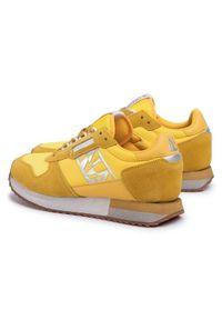 Żółte buty sportowe Napapijri