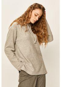 ANSWEAR - Answear - Bluza. Kolor: szary. Materiał: dzianina