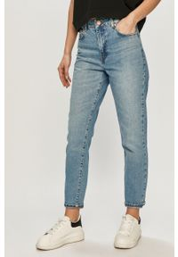 Niebieskie jeansy loose fit Noisy may