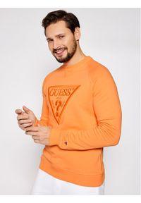 Guess Bluza U1GA09 K68I1 Pomarańczowy Regular Fit. Kolor: pomarańczowy