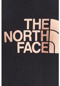 Niebieska bluza nierozpinana The North Face z aplikacjami, na co dzień