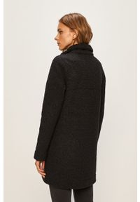 Czarna kurtka columbia bez kaptura, casualowa, na co dzień