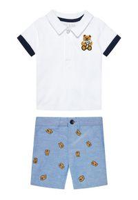 T-shirt polo Guess w kolorowe wzory, polo