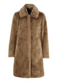 SAKI Sztuczne futro Tiffany brązowy female brązowy 46. Kolor: brązowy. Materiał: futro. Sezon: jesień, zima. Styl: elegancki
