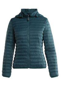 Born2be - Zielona Kurtka Thyxassea. Kolor: zielony. Materiał: tkanina, dresówka, jeans. Długość: krótkie