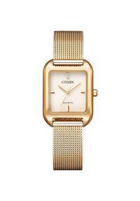 CITIZEN ZEGAREK Elegance EM0493-85P. Rodzaj zegarka: analogowe. Styl: elegancki