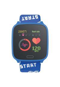 Niebieski zegarek FOREVER młodzieżowy, smartwatch