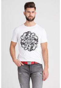 T-shirt Just Cavalli w kolorowe wzory