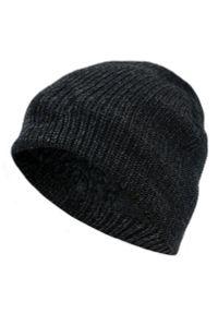 Czarna czapka Pako Jeans na jesień