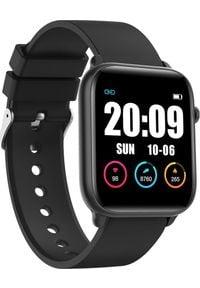 Smartwatch KingWear KW37 Pro Czarny (KW37). Rodzaj zegarka: smartwatch. Kolor: czarny