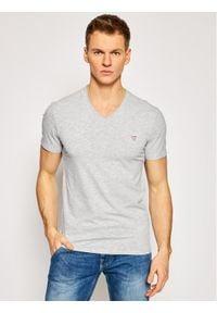 Guess T-Shirt M1RI32 J1311 Szary Super Slim Fit. Kolor: szary