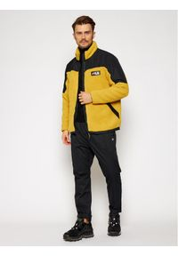 Żółta kurtka przejściowa Fila