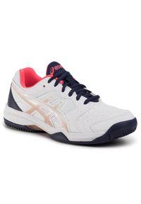 Białe buty do tenisa Asics