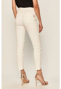Białe jeansy Miss Sixty w kolorowe wzory