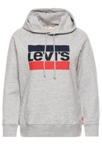 Levi's® Bluza Graphic Sport 35946-0000 Szary Regular Fit. Kolor: szary. Styl: sportowy