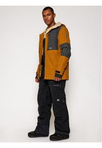 Niebieskie spodnie sportowe Quiksilver narciarskie