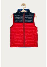 Czerwona kamizelka Polo Ralph Lauren na co dzień, casualowa