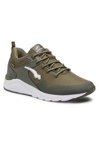 Bagheera - Sneakersy BAGHEERA - Pulse 86422-37 C3408 Green/White. Okazja: na co dzień. Kolor: zielony. Materiał: skóra ekologiczna, skóra, materiał. Szerokość cholewki: normalna. Styl: elegancki, sportowy, klasyczny, casual
