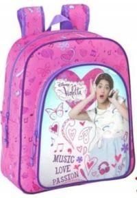 Patio Plecak Szkolny Violetta Disney Oryginał SPARTA A4. Wzór: motyw z bajki