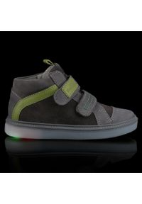RenBut - Trzewiki RENBUT - 23-3225 Grey Green/Popiel Zielony. Kolor: szary. Materiał: skóra, nubuk, zamsz. Szerokość cholewki: normalna