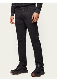 BOSS - Boss Chinosy Schino 50379154 Czarny Regular Fit. Kolor: czarny. Materiał: materiał