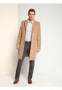 Szare spodnie TOP SECRET długie, eleganckie