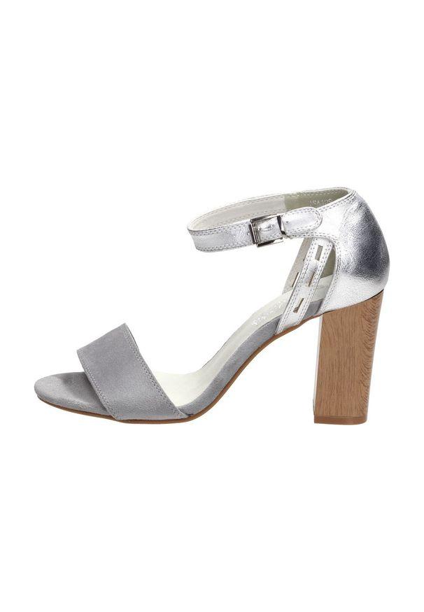 Szare sandały Jezzi klasyczne