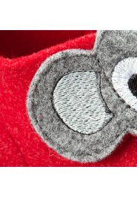 Czerwone kapcie Superfit z aplikacjami #7
