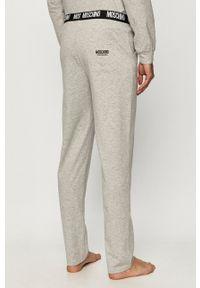 Moschino Underwear - Spodnie. Okazja: na co dzień. Kolor: szary. Materiał: dzianina. Styl: casual