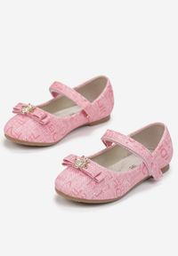 Born2be - Różowe Baleriny Doriegune. Kolor: różowy