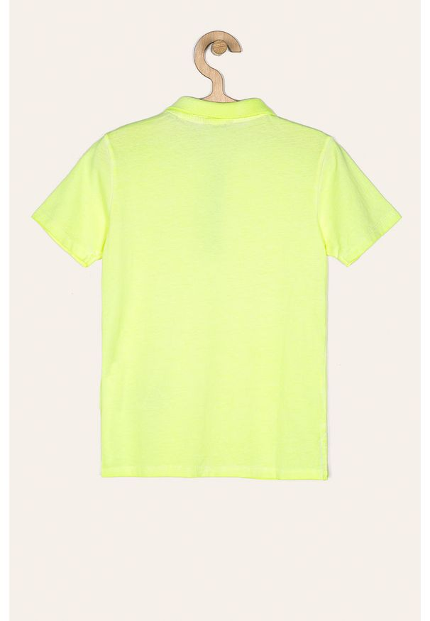 T-shirt polo Guess Jeans krótki, polo, w kolorowe wzory