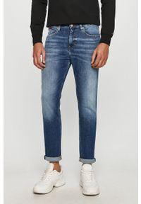 Niebieskie jeansy Tommy Jeans casualowe, na co dzień