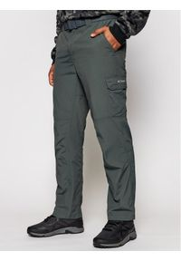 columbia - Columbia Spodnie outdoor Silver Ridge II 1794901 Szary Regular Fit. Kolor: szary