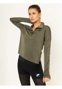 Zielona bluza sportowa Nike do biegania