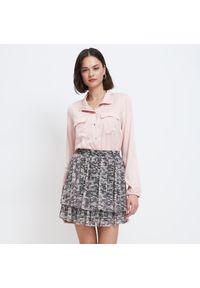 Mohito - Wiskozowa koszula - Różowy. Kolor: różowy. Materiał: wiskoza