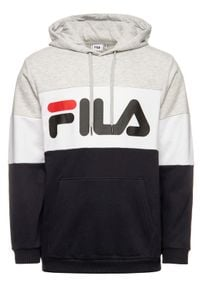 Fila Bluza Night Blocked 687001 Kolorowy Regular Fit. Wzór: kolorowy