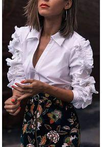 Biała bluzka IVET na co dzień, casualowa
