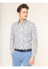 Biała koszula casual Emanuel Berg