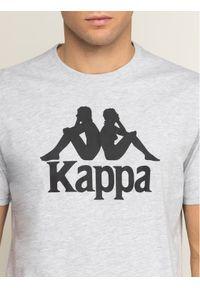 Kappa T-Shirt Caspar 303910 Szary Regular Fit. Kolor: szary