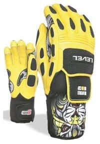 Level Rękawice narciarskie Worldcup Jr yellow. Sport: narciarstwo