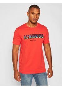 Czerwony t-shirt Iceberg