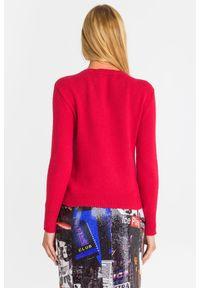 Sweter Armani Exchange z długim rękawem, na spacer, krótki