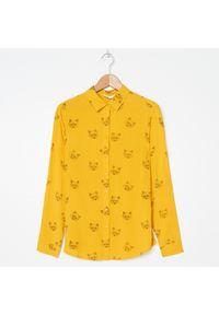 Żółta koszula House