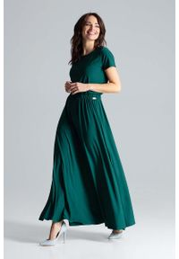 Zielona sukienka Katrus maxi