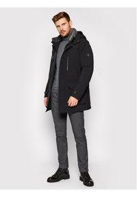 Czarna kurtka zimowa Pierre Cardin #8
