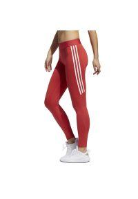 Legginsy sportowe Adidas na fitness i siłownię, długie