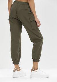 Born2be - Khaki Spodnie Nyxanise. Kolor: brązowy #5