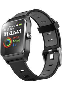 Czarny zegarek Umax smartwatch