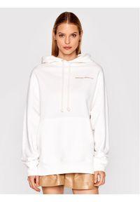 Imperial Bluza FB91BAYSTI Biały Relaxed Fit. Kolor: biały
