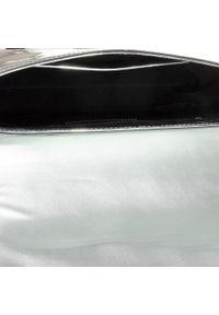 Srebrna torebka klasyczna Trussardi Jeans klasyczna